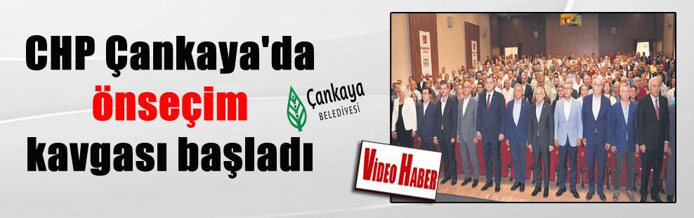 CHP Çankaya'da önseçim kavgası başladı