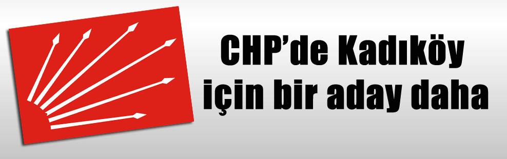 CHP'de Kadıköy için bir aday daha