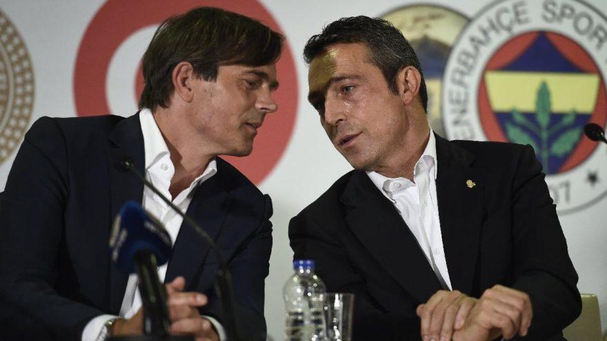Fenerbahçe Başkanı Ali Koç'tan Phillip Cocu'ya: İstifa et