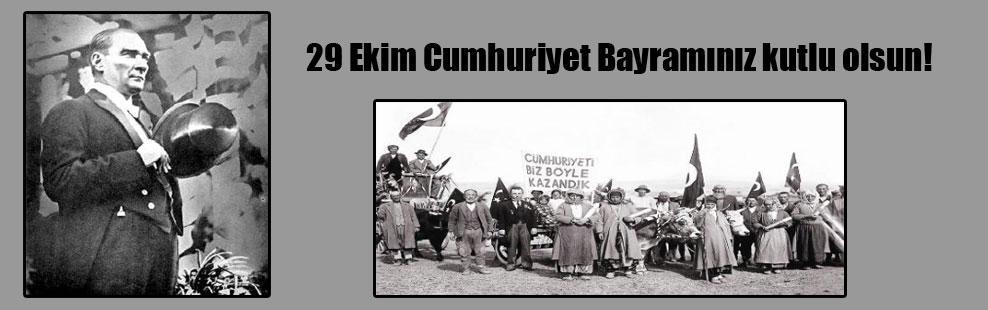 29 Ekim Cumhuriyet Bayramınız kutlu olsun!