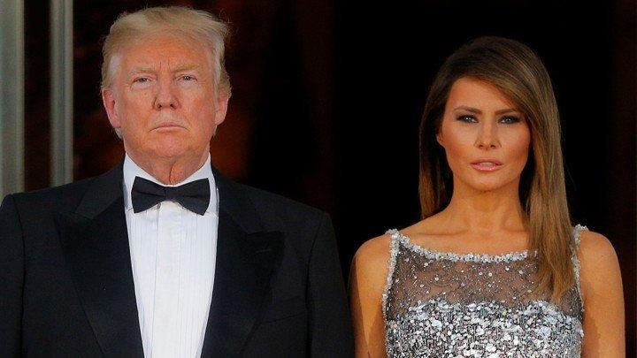 First Lady'nin uçağında panik anları… Kabini dumanlar sardı!