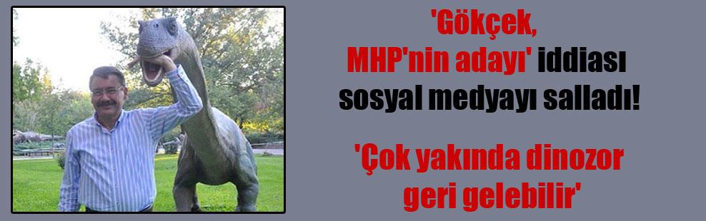 'Gökçek, MHP'nin adayı' iddiası sosyal medyayı salladı!