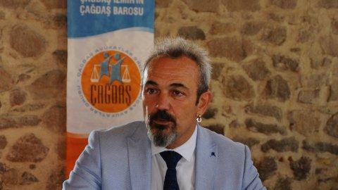 İzmir Barosu'nun yeni başkanı Özkan Yücel oldu