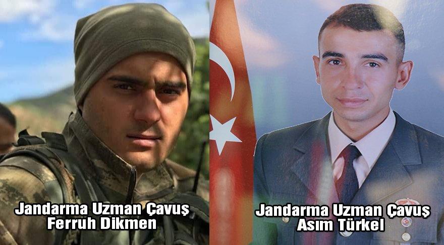 Tunceli'de iki askerimiz donarak şehit oldu