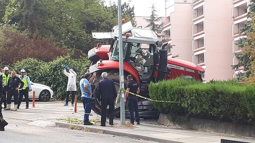 Ankara'yı birbirine katan traktör sürücüsü tutuklandı
