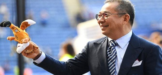 Leicester City kulübünün sahibi Vichai Srivaddhanaprabha'nın Cumartesi günkü helikopter kazasında öldüğü açıklandı