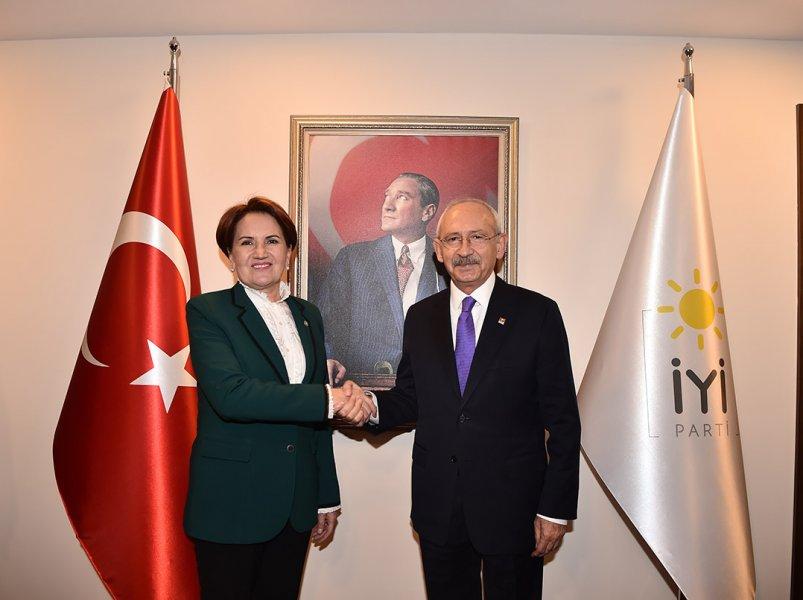 CHP ile İYİ Parti'den 'yerel seçim ittifakı' için ikinci toplantı!