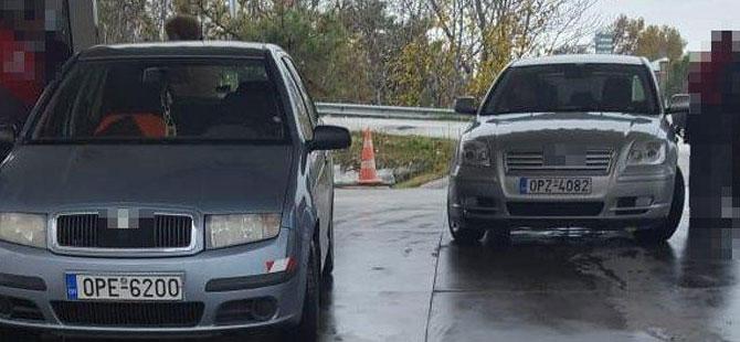 Bulgarlar akaryakıt istasyonlarına akın etti