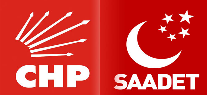 CHP'den Saadet Partisi'ne ziyaret
