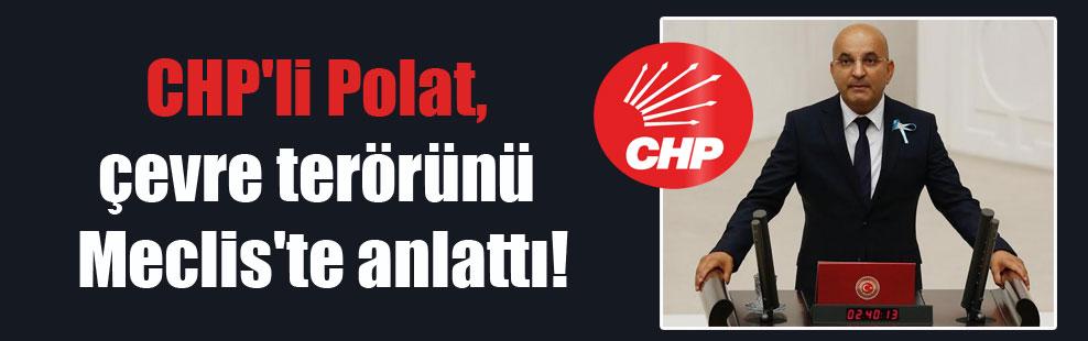 CHP'li Polat, çevre terörünü Meclis'te anlattı!