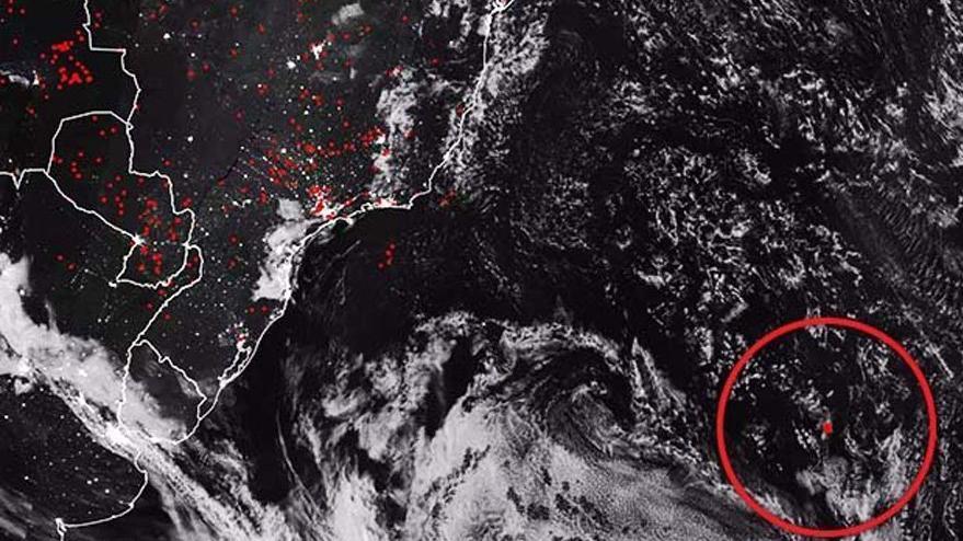 NASA yayınladı… Okyanusta korkutan görüntü