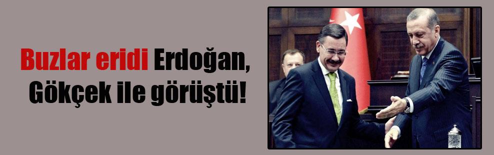 Buzlar eridi Erdoğan, Gökçek ile görüştü!