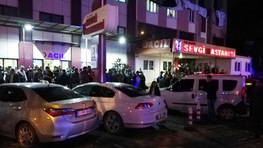 Osmaniye'de silahlı kavga: 4 yaralı