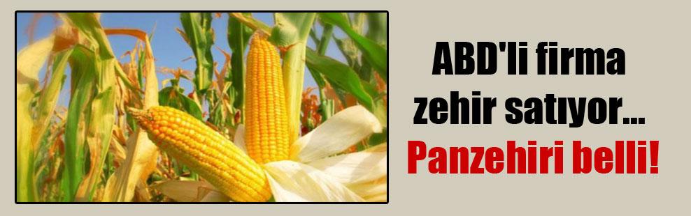 ABD'li firma zehir satıyor… Panzehiri belli!