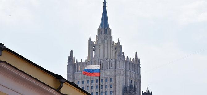 Rusya, Ukrayna maslahatgüzarını Dışişleri'ne çağırdı