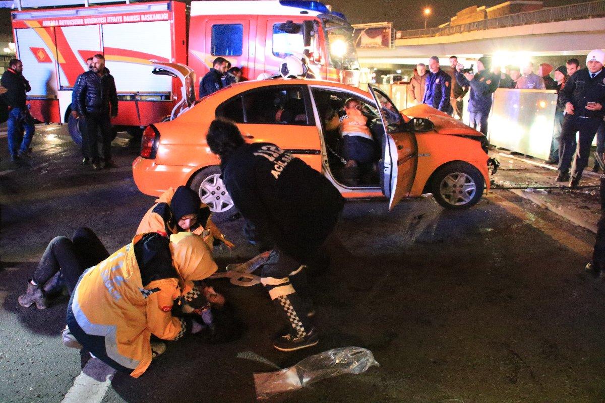 Ankara'da feci kaza: Vatandaşlar seferber oldu…