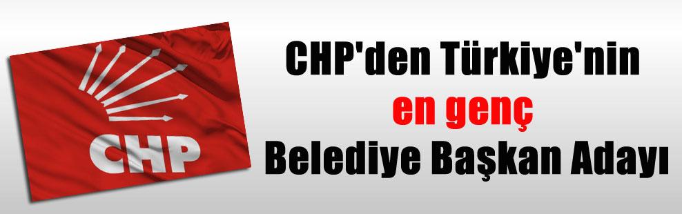 CHP'den Türkiye'nin en genç Belediye Başkan Adayı