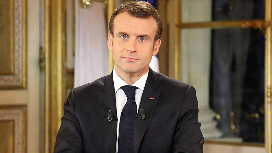 Fransa Cumhurbaşkanı Macron'a tokatlı saldırı