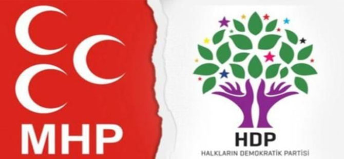 MHP ile HDP arasında 'parti kapatma' tartışması