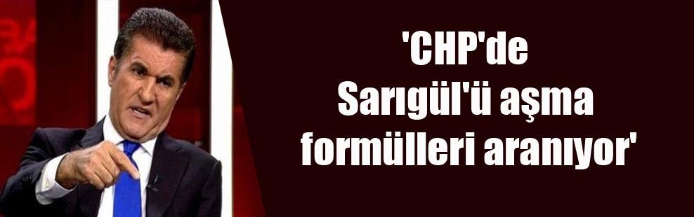 'CHP'de Sarıgül'ü aşma formülleri aranıyor'