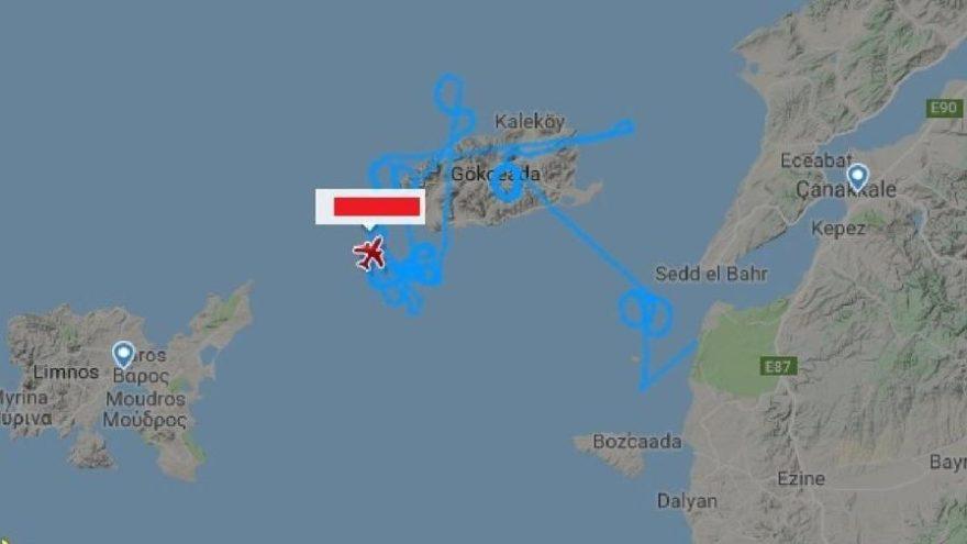 SİHA'lardan dikkat çeken Yunanistan rotası
