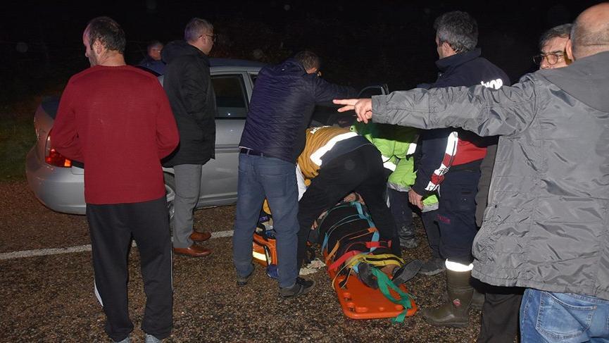 Sinop'ta trafik kazası! 7 Yaralı