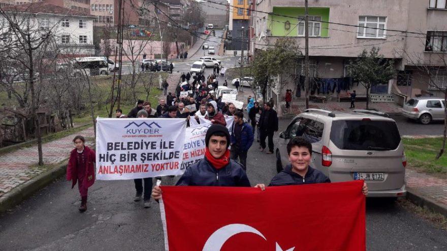 Sultangazi'de 'meydan' eylemi