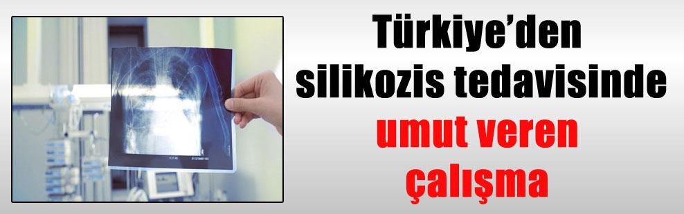 Türkiye'den silikozis tedavisinde umut veren çalışma