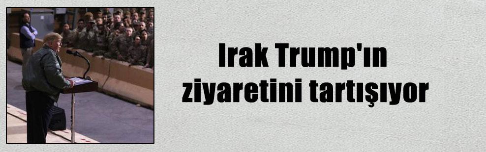 Irak Trump'ın ziyaretini tartışıyor