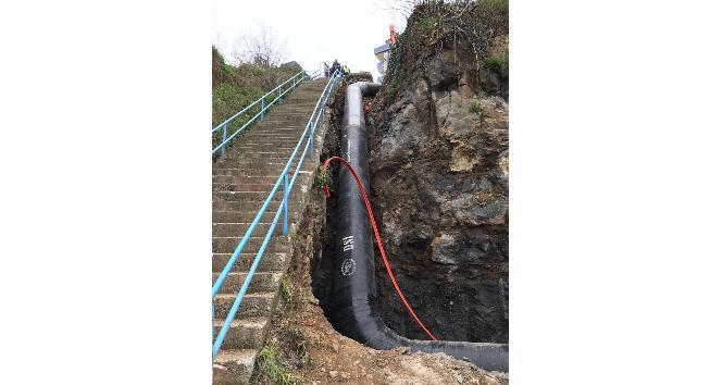 Trabzon İçme Suyu İsale Hattı yenileniyor