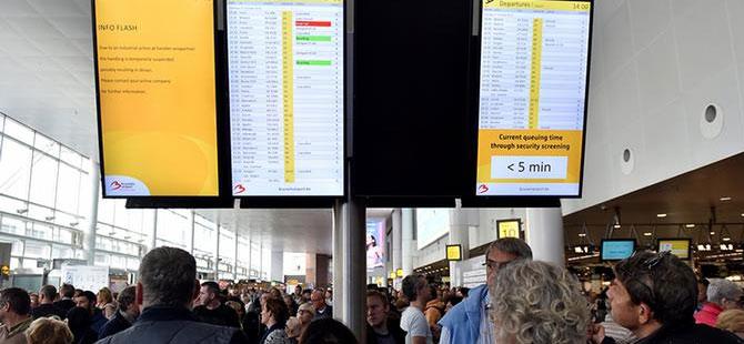 Almanya'da havalimanlarında uyarı grevi!