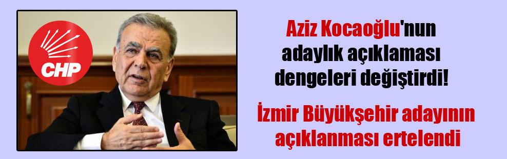 Aziz Kocaoğlu'nun adaylık açıklaması dengeleri değiştirdi!