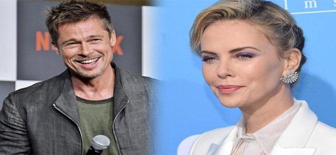 Brad Pitt ve Charlize Theron aşk yaşıyor iddiası!