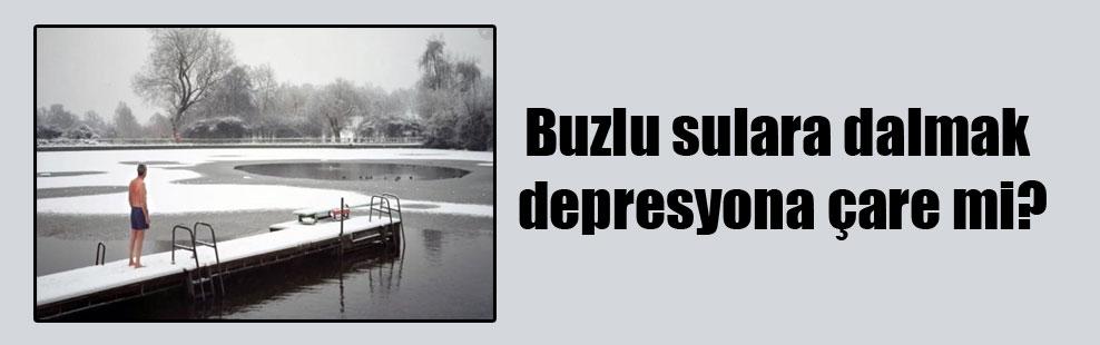 Buzlu sulara dalmak depresyona çare mi?