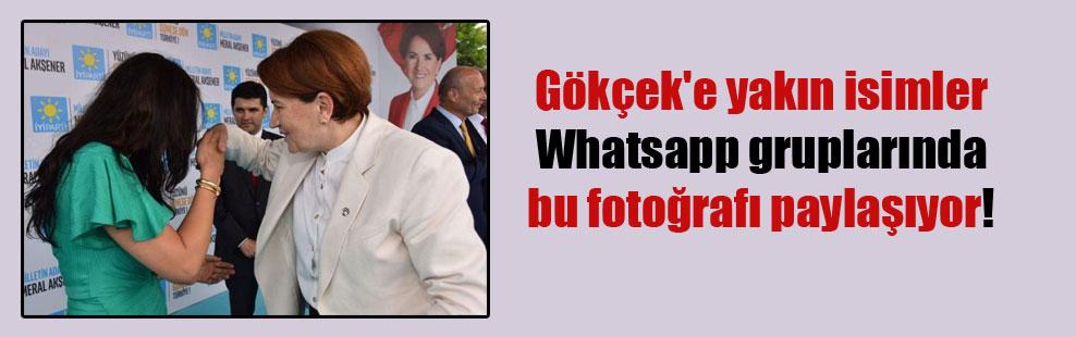 Gökçek'e yakın isimler Whatsapp gruplarında bu fotoğrafı paylaşıyor!