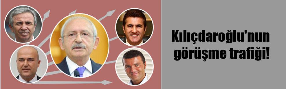 Kılıçdaroğlu'nun görüşme trafiği!