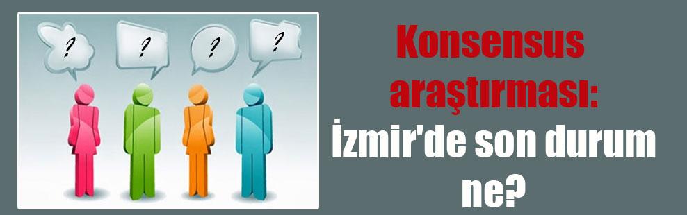 Konsensus araştırması: İzmir'de son durum ne?
