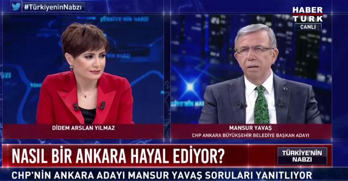 Mansur Yavaş: Ankara'ya mutluluk vadediyorum