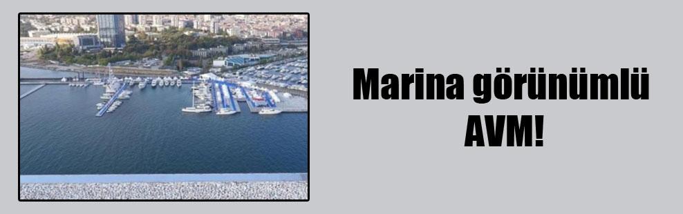 Marina görünümlü AVM!