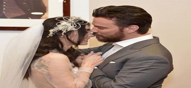 Sinan Akçıl ve Burcu Kıratlı Amsterdam'da evlendi