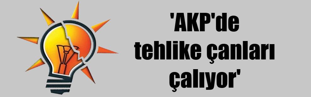 'AKP'de tehlike çanları çalıyor'