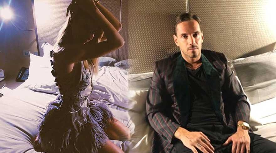 Şeyma Subaşı ve sevgilisi Guido Senia, aynı yatakta poz verdi