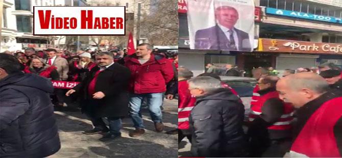 Ve Kırmızı Yelekliler Ankara'da! Önce Anıtkabir ardından CHP Genel Merkezi!
