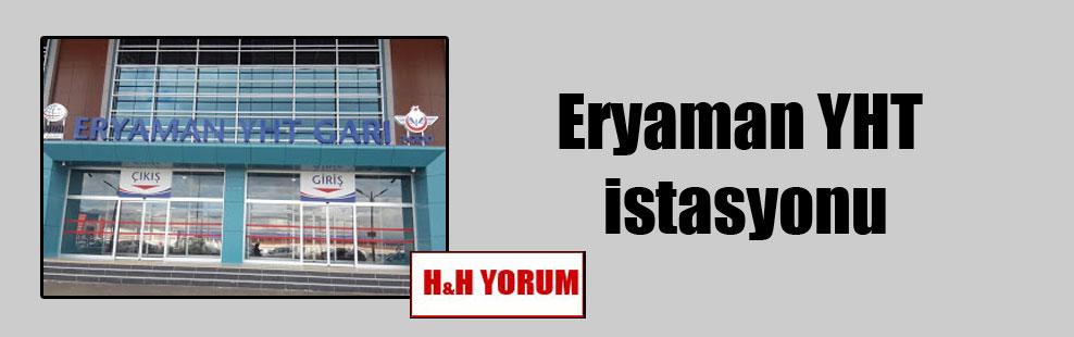 Eryaman YHT istasyonu