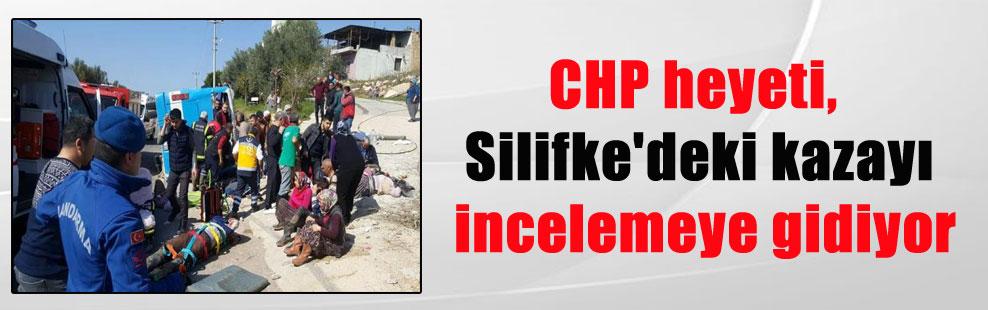 CHP heyeti, Silifke'deki kazayı incelemeye gidiyor