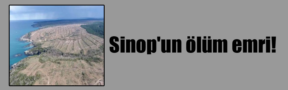 Sinop'un ölüm emri!