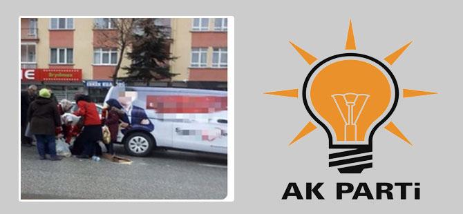 'AKP aracı vatandaşı ezdi'
