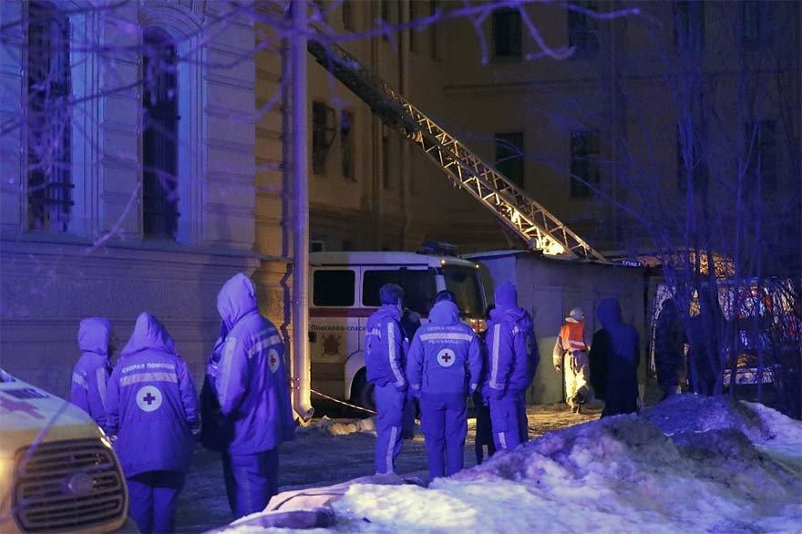 Rusya'da üniversite binası çöktü! 21 kişi enkaz altında…