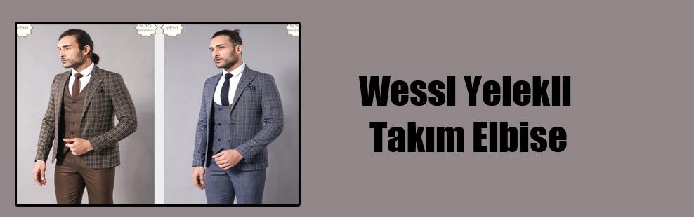 Wessi Yelekli Takım Elbise