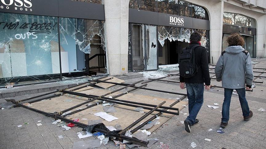 Fransa, Sarı Yeleklilerin eylemlerini yasaklıyor